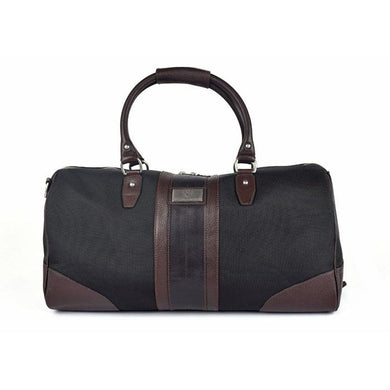 Martin Dingman Executive Duffel (Black Nylon)