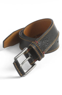 H.S. Trask Sumner Men's Belt (Black)
