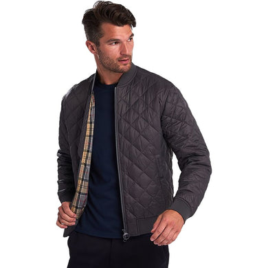 Barbour Gabble Quilted Jacket (Charcoal)