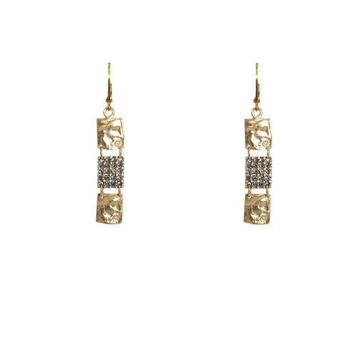 Tat2 Designs Roman 3 Man Earrings (Gold)