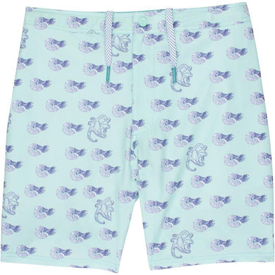 GenTeal Apparel Performance Swim Trunks (Sea Monsters)