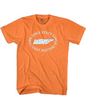 Hydro High Tennessee State Waterways Tee