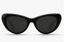 Load image into Gallery viewer, Krewe Irma Black Sunglasses