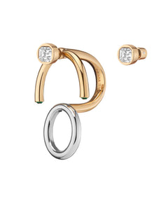 DEMARSON Nova 2.0 Ring / Earring Set