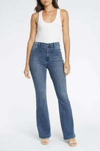 Pistola Jeanne High Rise 70's Flare Jeans