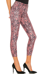 L'AGENCE Margot High Rise Skinny (Garnet)