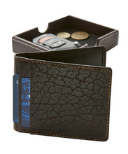 Load image into Gallery viewer, T.B. Phelps Bison Wallet (Black)