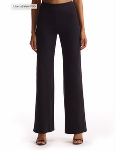 Commando Neoprene Wide Leg Pant (Black)