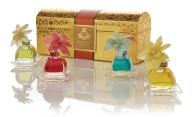 Agraria PetiteEssence Santa Barbara Collection (Mediterranean Jasmine, Lime & Orange Blossoms, Cedar Rose and Golden Cassis)