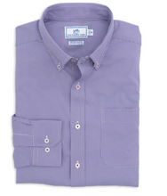 Load image into Gallery viewer, Southern Tide Intercoastal Sport Shirt (Gingham / Regal Purple)