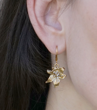 Load image into Gallery viewer, Tat2 Designs Lily Drop Earrings (Gold)