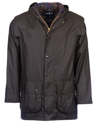 Barbour Classic Durham Wax Jacket (Olive)