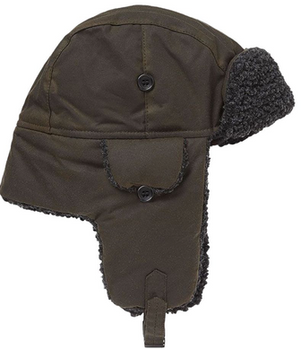 Barbour Fleece Lined Trapper (Olive)