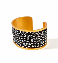 Load image into Gallery viewer, Brackish Courtney Wide Cuff Bracelet
