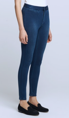 L'AGENCE Pull-On Jean (River Blue)