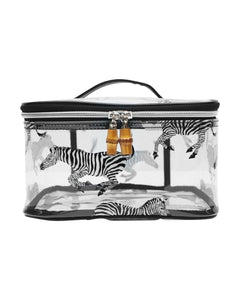 TRVL Design Zebra Clear Head Case