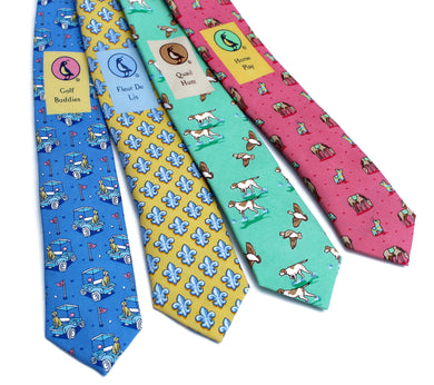 Bird Dog Bay Neck Tie (Multiple Styles)
