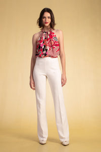 Trina Turk Chimayo Pant (Winter White)