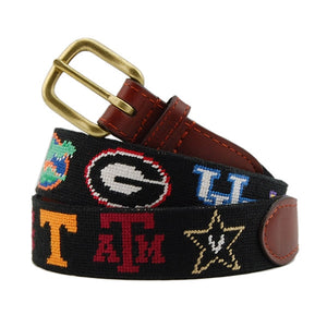 Smathers & Branson Men's Belt (SEC Traditional, Black)