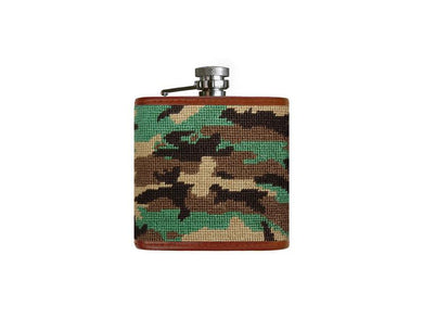 Smathers & Branson Camouflage Flask