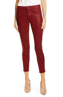 L'AGENCE Margot High Rise Skinny (Redstone Coated)
