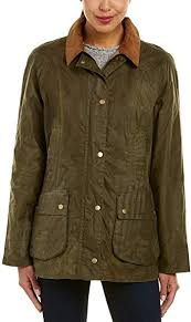 Barbour Ladies Lightweight Beadnell Archive Olive Jacket