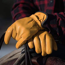 Load image into Gallery viewer, Filson Original Lined Goatskin Gloves (Tan)
