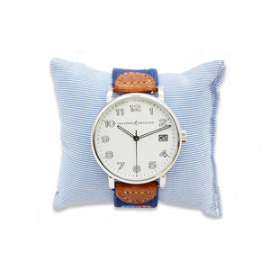 Smathers & Branson Essex Needlepoint Watch