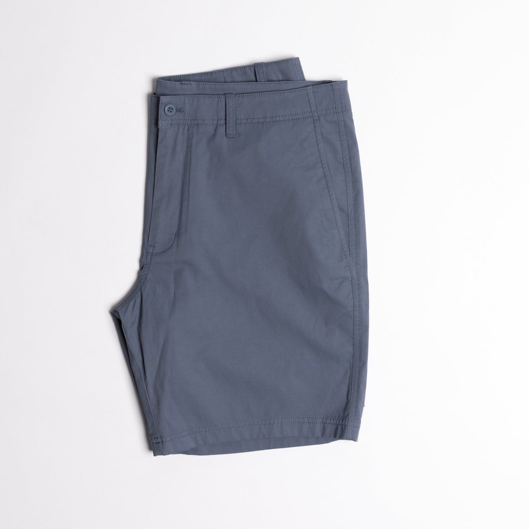 Duck Head Harbor Performance Shorts (Slate Blue)