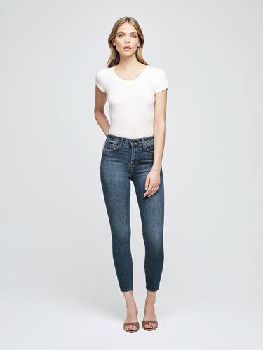 L'AGENCE Margot High Rise Skinny (New Vintage)