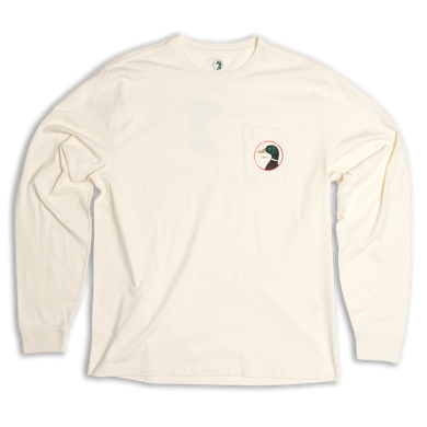 Duck Head Long Sleeve Logo T-Shirt