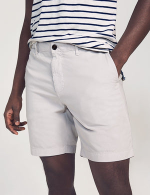 Faherty Cloud Cotton Harbor Short (Plomo)