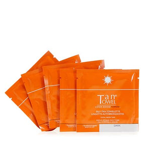 TanTowel Full Body Dark 5-Pack