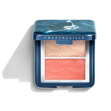 Load image into Gallery viewer, Chantecaille Coral Manta Ray Blush & Highlighter Duo