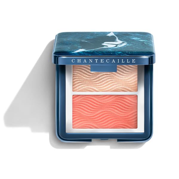 Chantecaille Coral Manta Ray Blush & Highlighter Duo