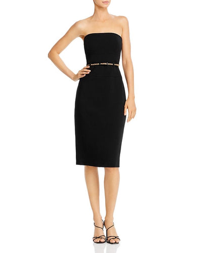 Black Halo Strapless Jackie O Dress