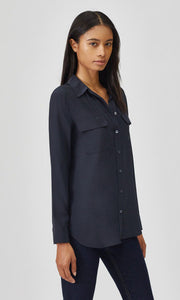 Equipment Signature Silk Shirt (Eclipse)