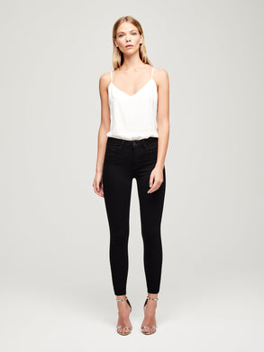 L'AGENCE Margot High Rise Skinny (Noir)