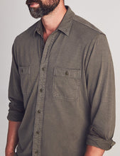 Load image into Gallery viewer, Faherty Long Sleeve Knit Seasons Shirt