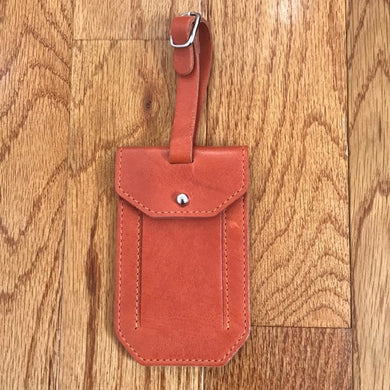 Moore & Giles Luggage Tag (Orange)