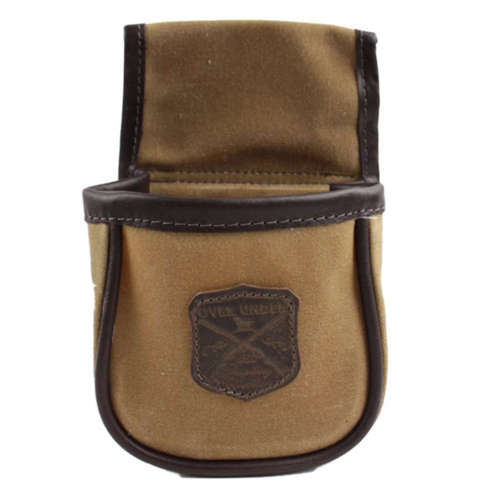 Over Under Single Shell Pouch (Tan)
