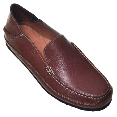 Products T.B Phelps Men's Ashby Bison Slipper (Walnut) - Final Sale