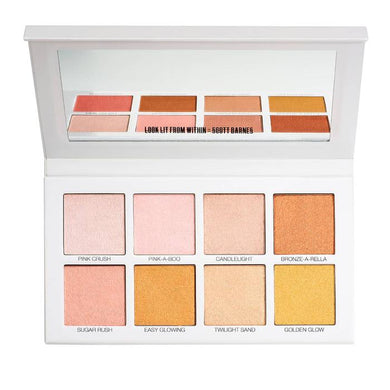 Scott Barnes Glowy & Showy Highlighter Palette