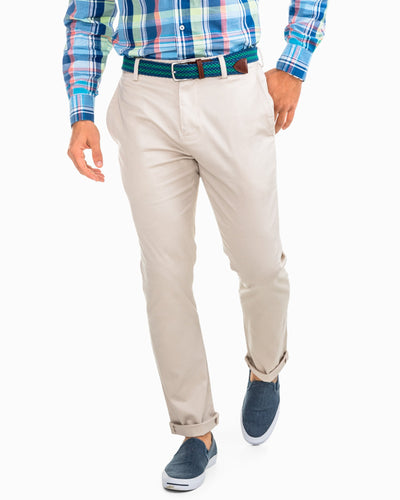 Southern Tide Men's Channel Marker Khakis (Stone)