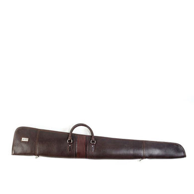 Martin Dingman Saddle Leather Sweet 16 Shotgun Case (Chocolate)