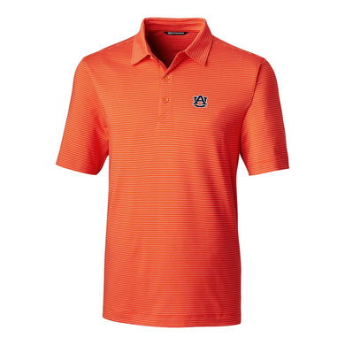 Cutter & Buck Men's Forge Polo Pencil Stripe (Auburn)
