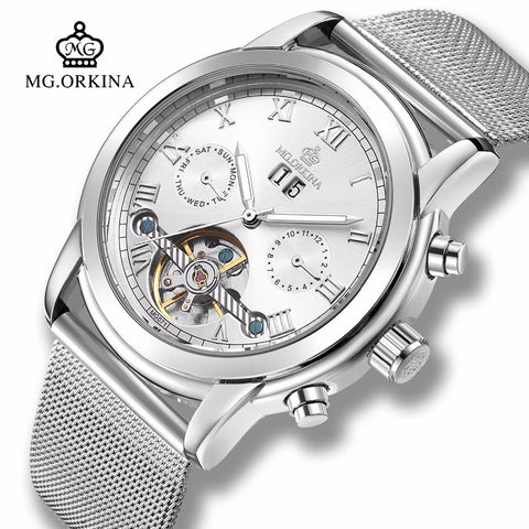 Mg.Orkina  Automatic Tourbillon Men Watch