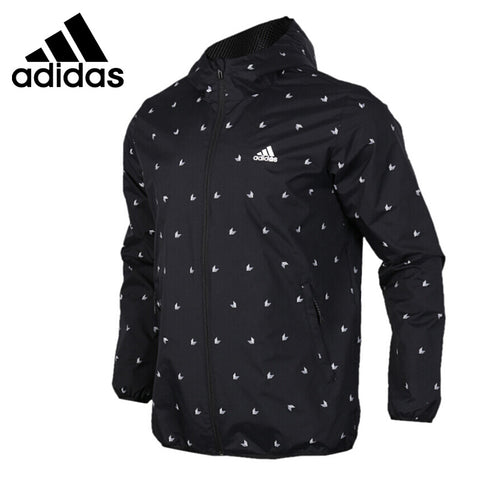 Original Adidas WB AOP CUBE Jacket Hooded