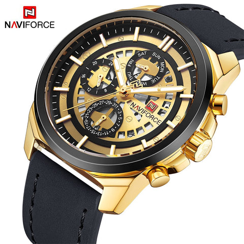 NAVIFORCE Gold Men Watch