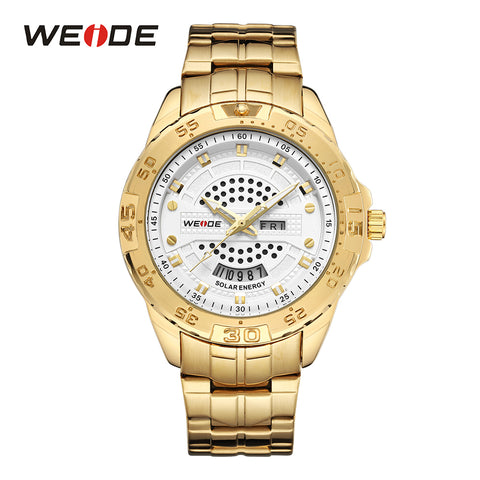 WEIDE Solar Watch Men